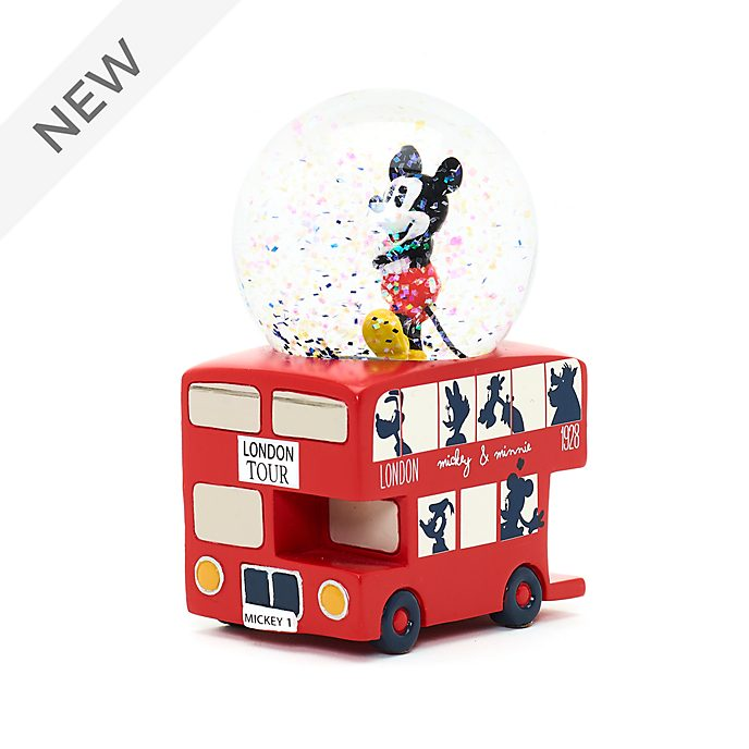 Disney Store Mickey Mouse London Snow Globe