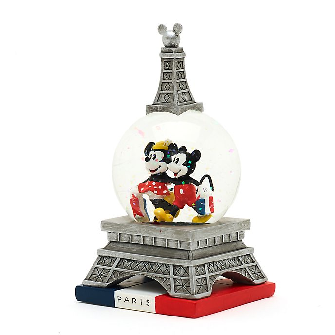 Disney Store Boule à neige Mickey et Minnie Paris