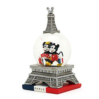 Disney Store Boule à neige Mickey et Minnie Paris