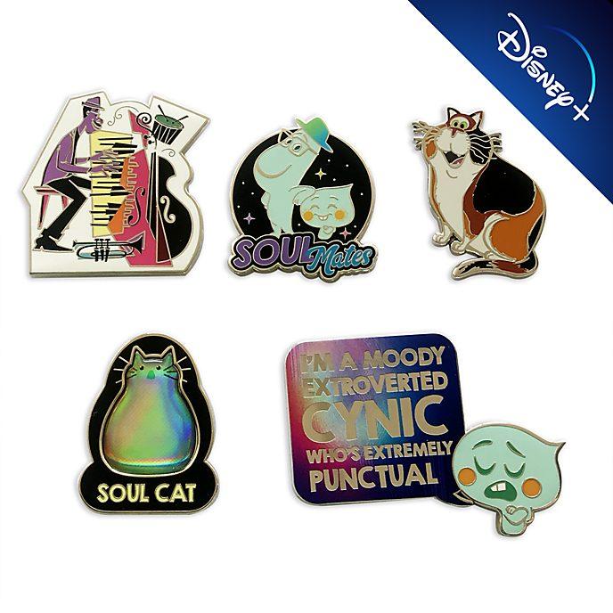 Set di pin in edizione limitata Soul Disney Store