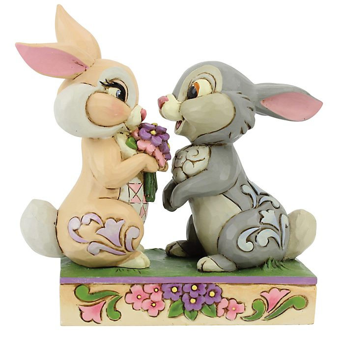 Enesco Thumper and Miss. Bunny Disney Traditions Figurine