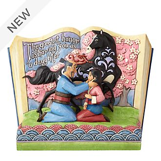 Enesco Mulan The Greatest Honour Storybook Disney Traditions Figurine