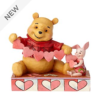 Enesco Winnie the Pooh and Piglet Disney Traditions Figurine