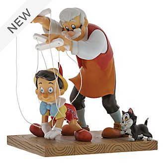 Enesco Pinocchio Little Wooden Head Enchanting Disney Figurine