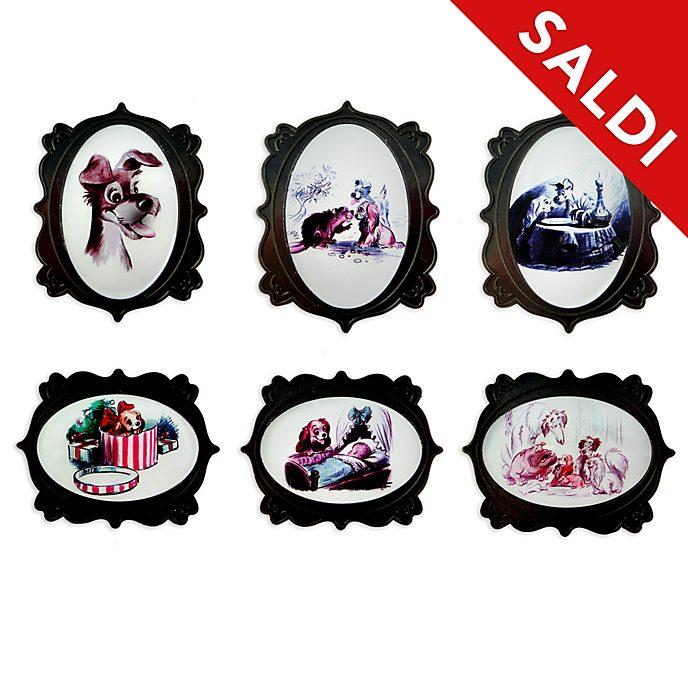 Set di pin Lilli e il Vagabondo edizione limitata Disney Store