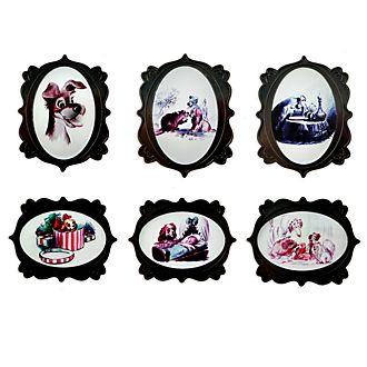 Disney Store Ensemble de pin's La Belle et le Clochard édition limitée