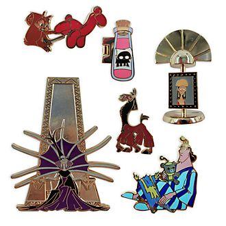 Disney Store - Ein Königreich für ein Lama - Anstecknadelset in limitierter Edition