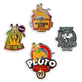Disney Store Pluto Limited Edition Pin Set