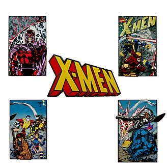 Set de pins edición limitada X-Men, Disney Store