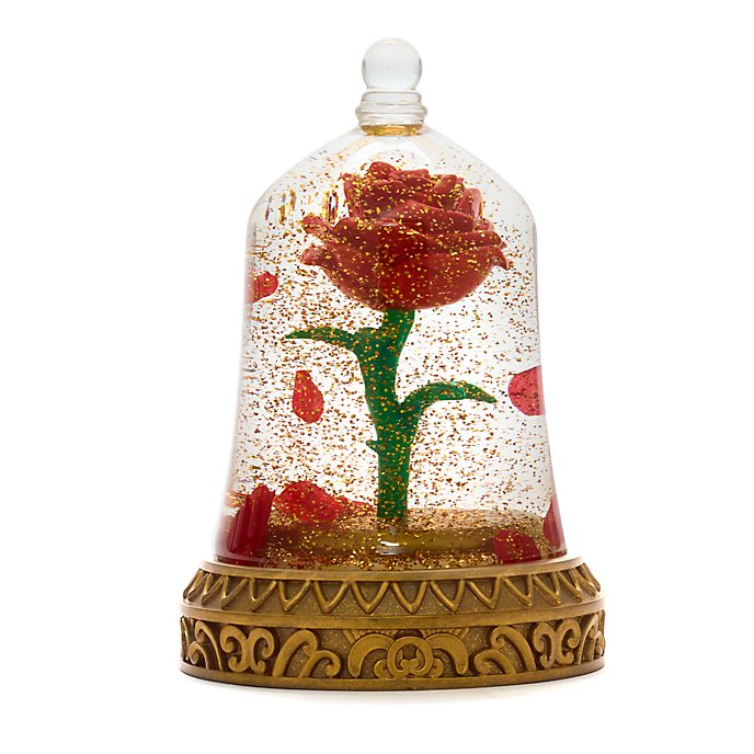 Disney Store Enchanted Rose Bell Jar, Beauty and the Beast