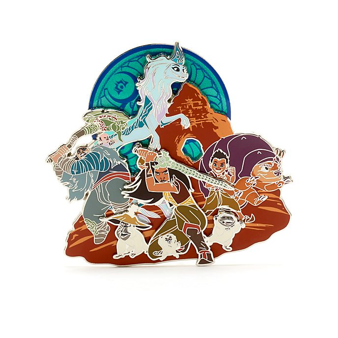 Disney Store Ensemble de pin's édition limitée, Raya et le dernier dragon