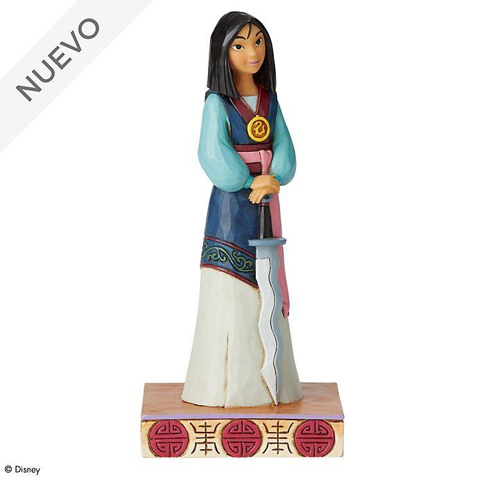 Figurita guerrera encantadora Mulán, Disney Traditions, Enesco