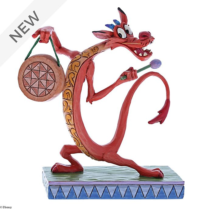 Enesco Mushu Look Alive Disney Traditions Figurine