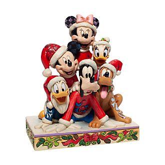 Enesco Mickey and Friends Festive Disney Traditions Figurine