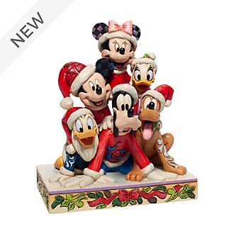Enesco Mickey and Friends Festive Disney Traditions Figurine