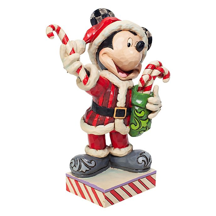 Enesco Mickey Mouse Peppermint Surprise Disney Traditions Figurine