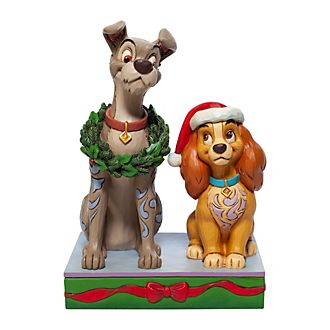 Enesco Lady and the Tramp Disney Traditions Figurine