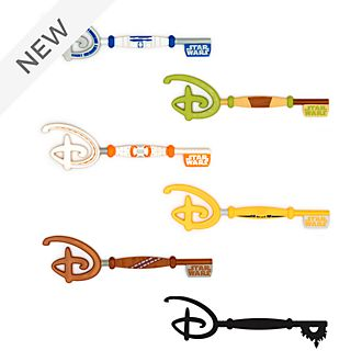 Disney Store Star Wars Mystery Collectible Key