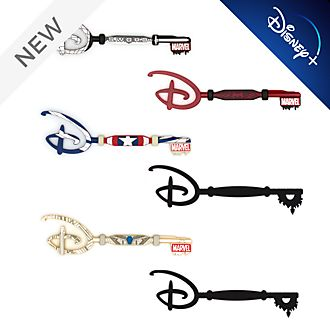 Disney Store Disney+ Marvel Mystery Collectible Key