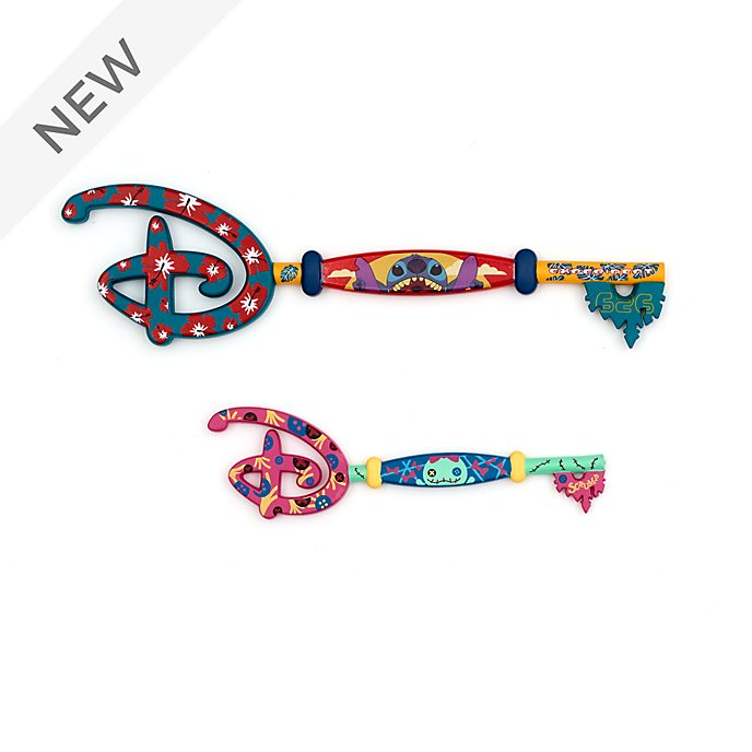 Disney Store Stitch Key Set