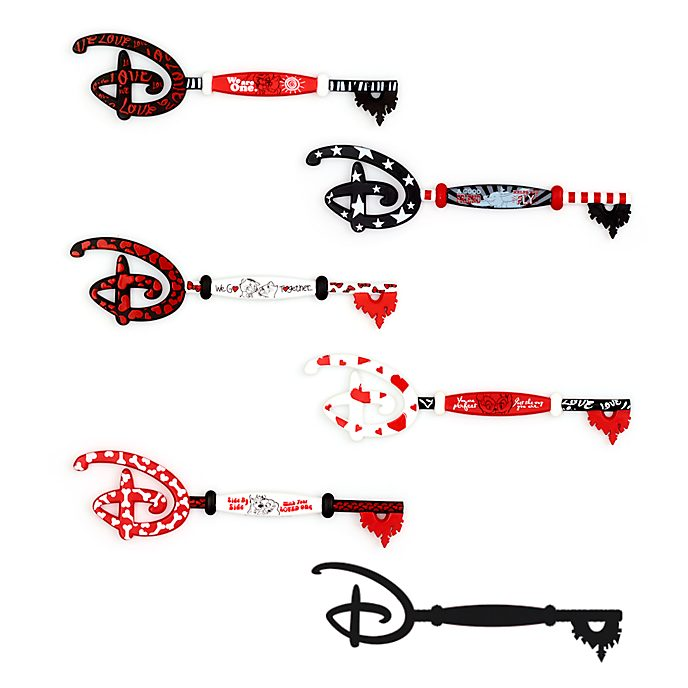 Disney Store Classic Disney Love Mystery Opening Ceremony Keys