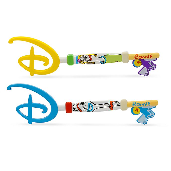 Disney Store Forky and Karen Opening Ceremony Keys, Toy Story 4