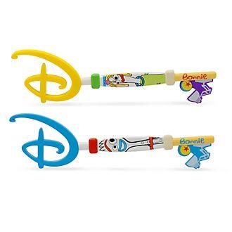 Chiavi Opening Ceremony Forky e Karen Toy Story 4 Disney Store