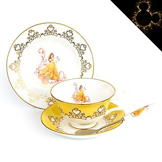 English Ladies Co. Belle Fine Bone China Tea Set, Beauty and the Beast