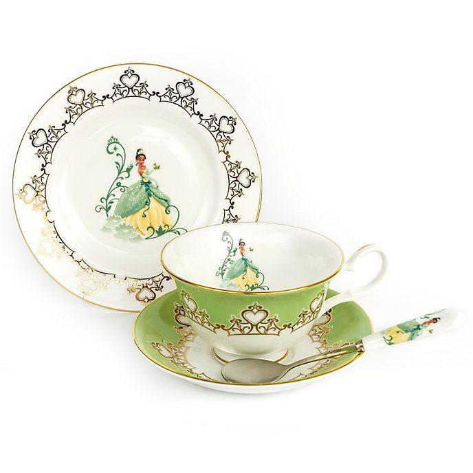 English Ladies Co. Tiana Fine Bone China Tea Set, The Princess and the Frog
