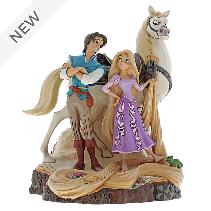 Enesco Tangled Live Your Dream Disney Traditions Figurine