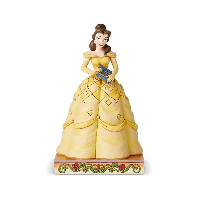 Enesco Belle Disney Traditions Figurine, Beauty and the Beast