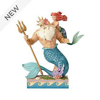 Enesco Ariel and Triton Disney Traditions Figurine
