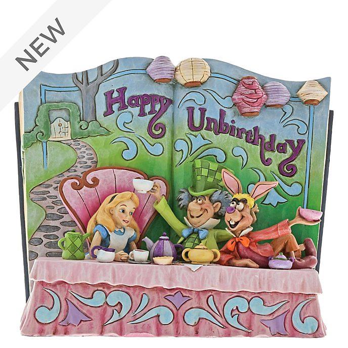 Enesco Alice in Wonderland Storybook Disney Traditions Figurine