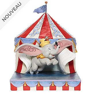 Enesco Figurine Dumbo Chapiteau de cirque, Disney Traditions