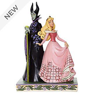 Enesco Aurora and Maleficent Disney Traditions Figurine