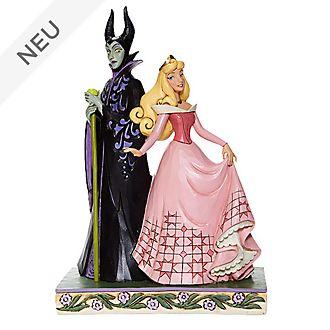 Enesco - Disney Traditions Figur - Aurora und Maleficent
