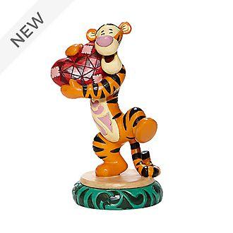 Enesco Tigger Holding Heart Disney Traditions Figurine