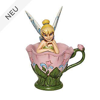 Enesco - Disney Traditions Figur - Tinkerbell auf einer Blume