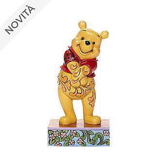 Statuetta Winnie the Pooh sorridente collezione Disney Traditions Enesco