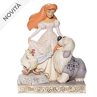 Statuetta Ariel White Woodland collezione Disney Traditions Enesco