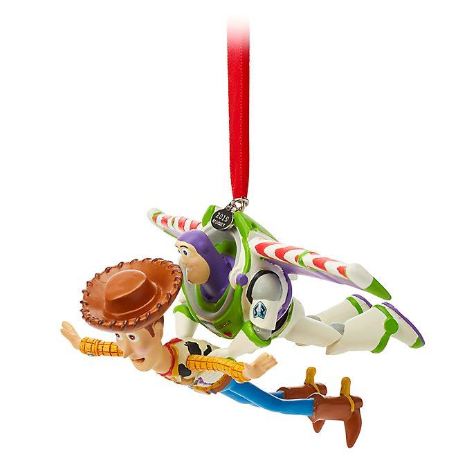Disney Store - Woody und Buzz Lightyear - Dekorationsstück zum Aufhängen