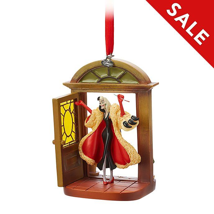 Disney Store - Cruella de Vil - Dekorationsstück zum Aufhängen
