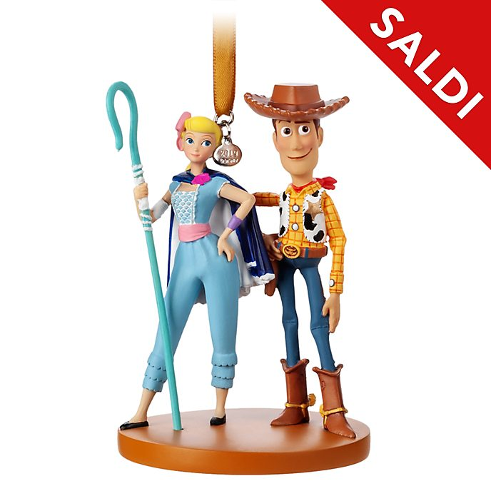 Ornament a sospensione Woody e Bo Peep Toy Story 4 Disney Store