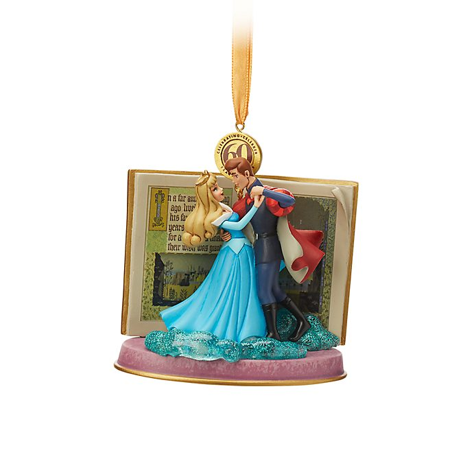 Adorno colgante azul La Bella Durmiente, Disney Store