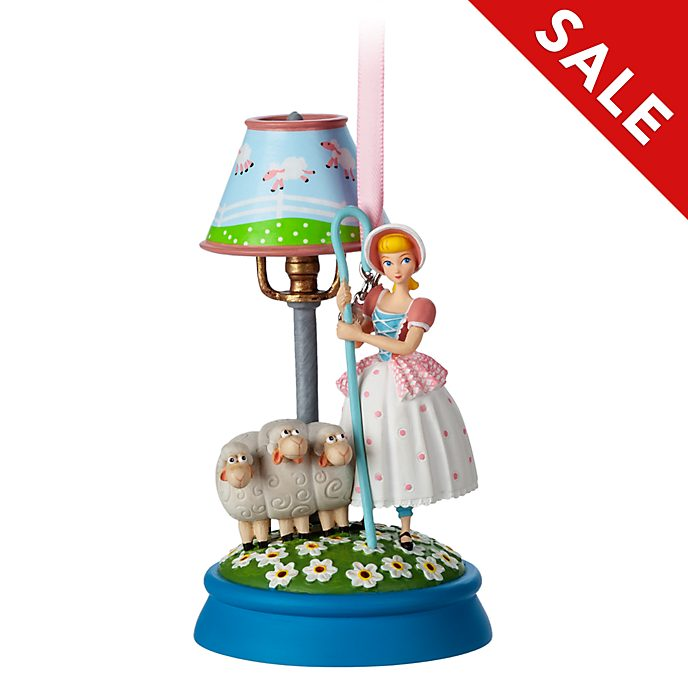 Disney Store - Porzellinchen - Leuchtendes Dekorationsstück zum Aufhängen