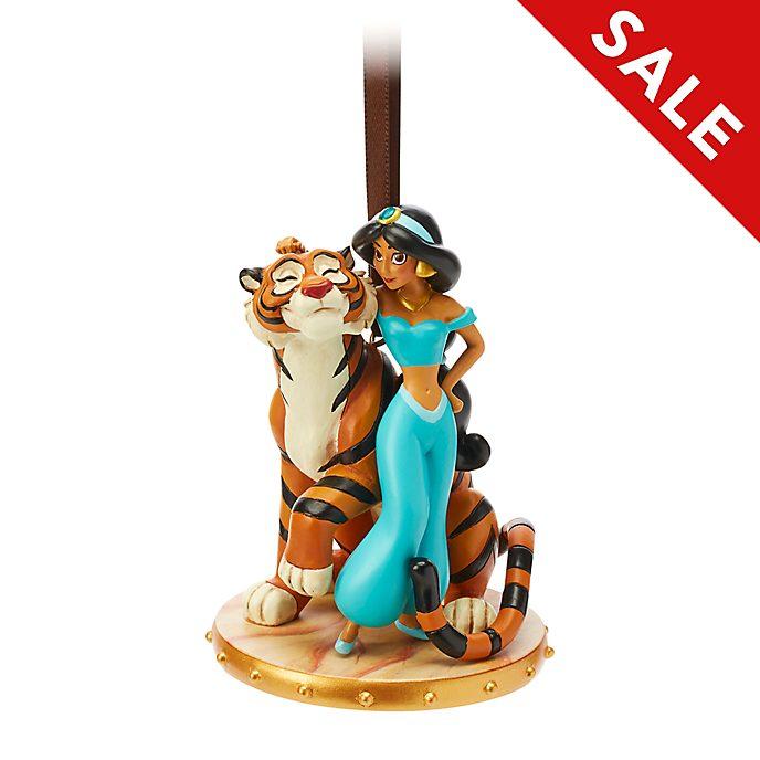 Disney Store - Prinzessin Jasmin und Radscha - Dekorationsstück zum Aufhängen