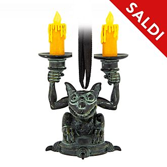 Ornament luminoso da appendere Gargoyle Haunted Mansion Disney Store