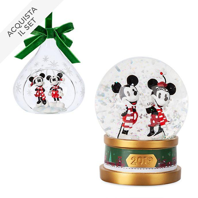 Collezione decorazioni natalizie Topolino e Minni Disney Store