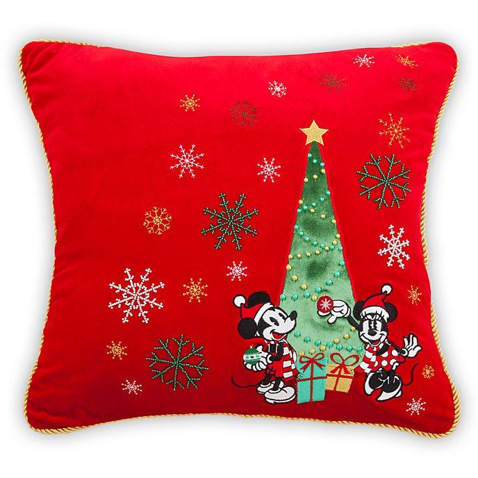 Disney Store - Holiday Cheer - Micky und Minnie - Kissen