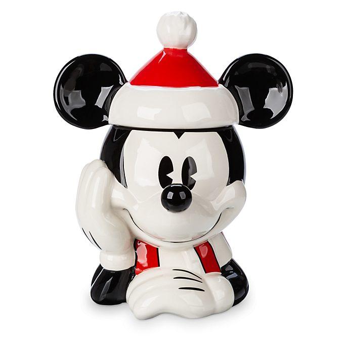 Tarro galletas Mickey Mouse, Holiday Cheer, Disney Store